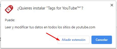 ver etiquetas en youtube