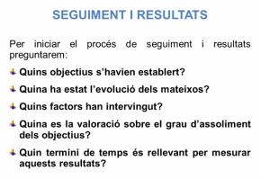 seguiment i resultats pnl