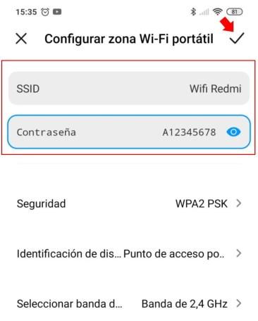 compartir wifi movil