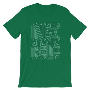 NERD (Kelly Green t-shirt)