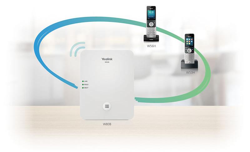 W56H IP DECT Phone Handset