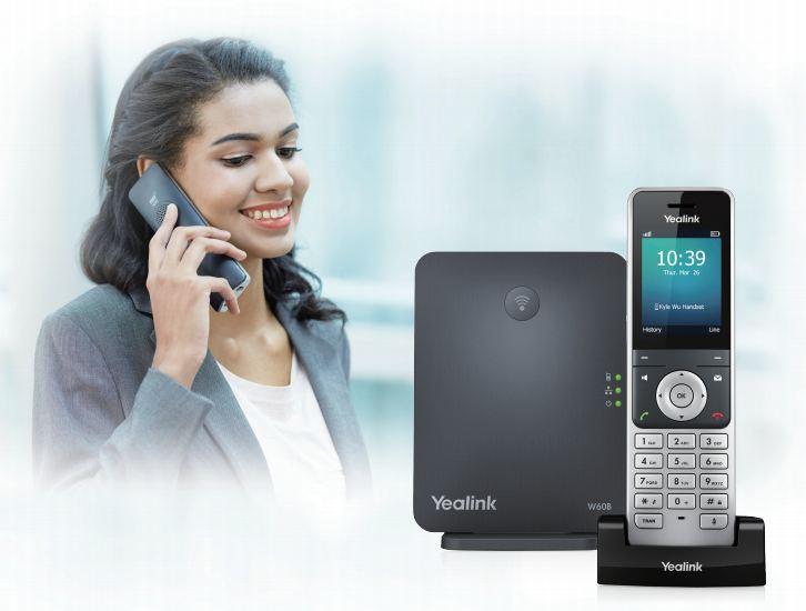 Yealink W60P wireless IP Phone