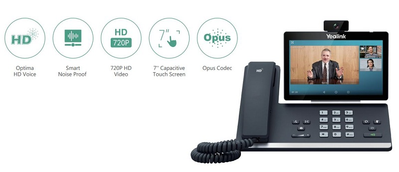Enhanced HD Video and Voice for Exceptionally Clear Communication