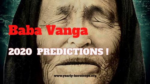 Baba Vanga's predictions for 2020