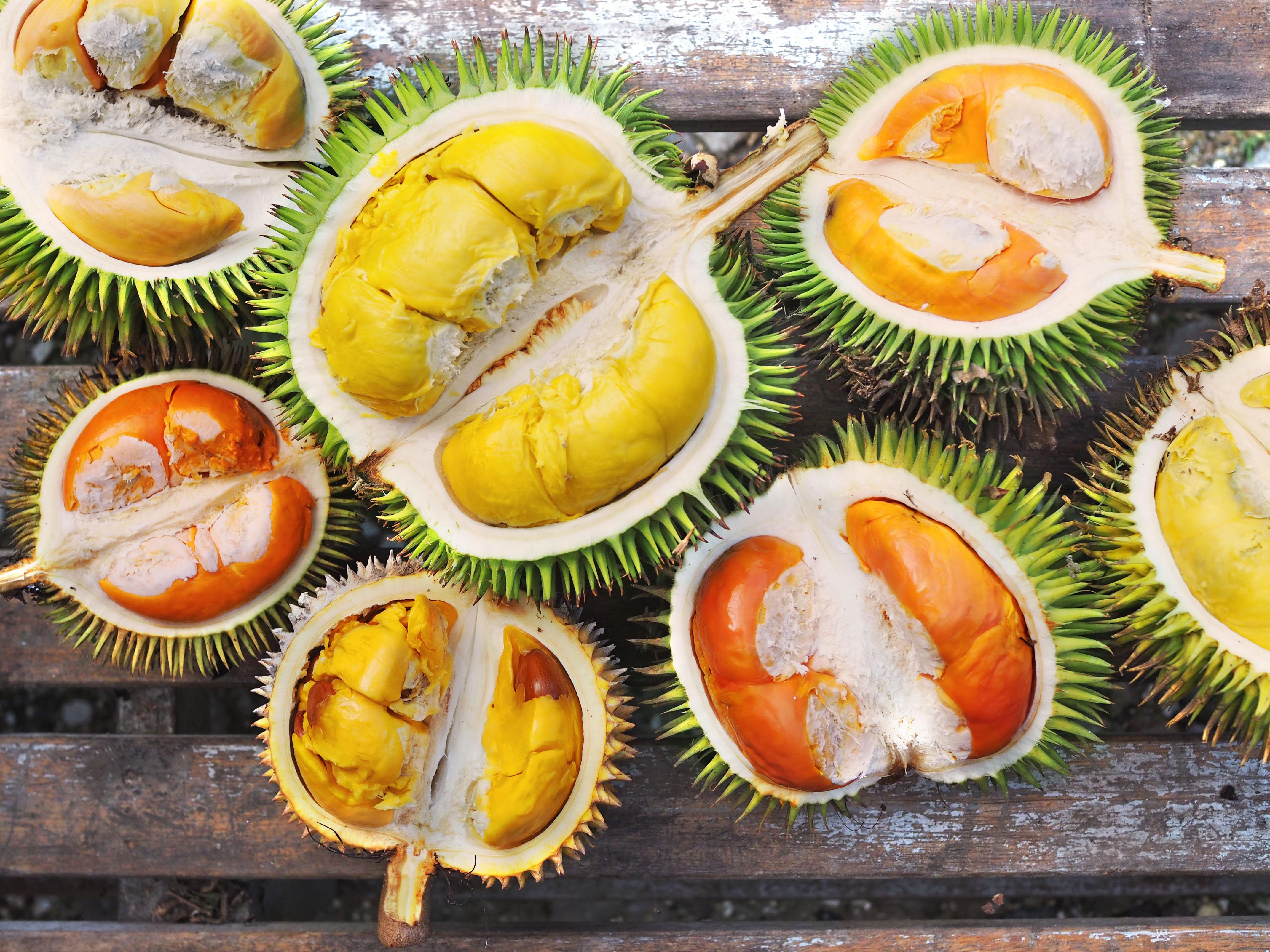 Brunei Durian Varieties At Gerai Pengkalan Batu Year Of The Durian