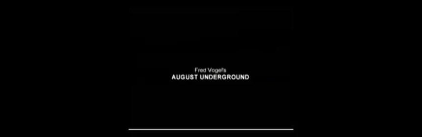 Titelbild August Underground
