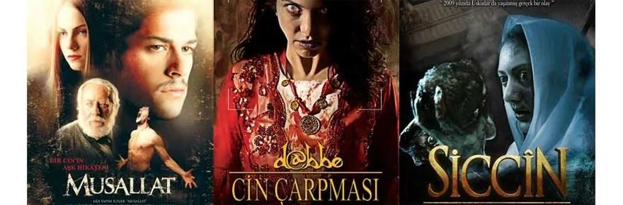Der moderne, türkische Horrorfilm – Musallat (2007), Dabbe: Cin Çarpmasi (2013) und Siccin (2014)