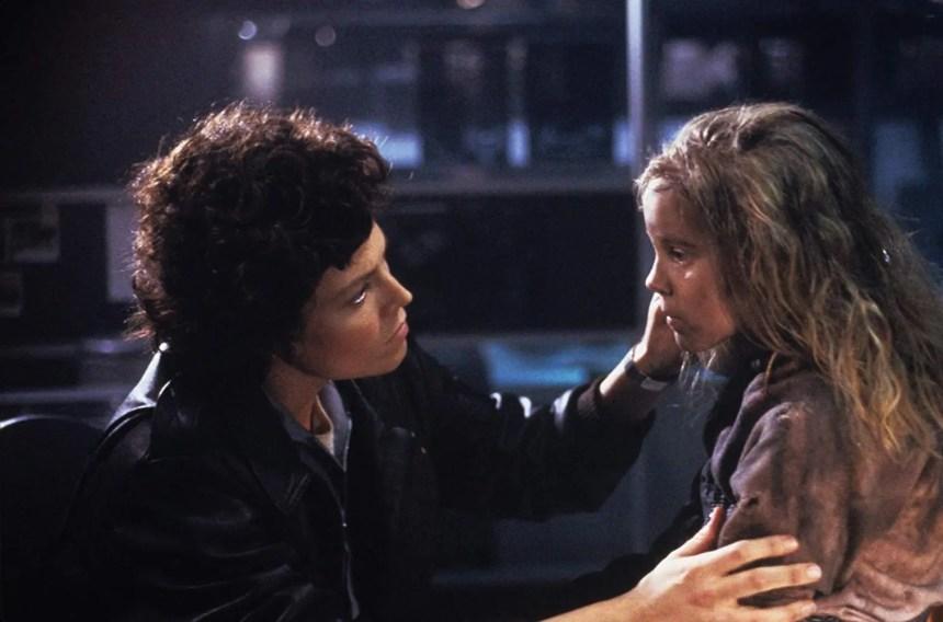 Aliens. Ripley und Newt