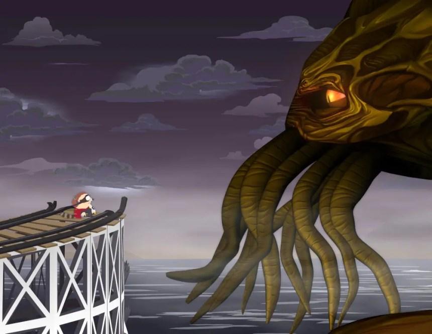 Selbst in der Cartoon-Serie South Park hat der große Cthulhu einen Gastauftritt