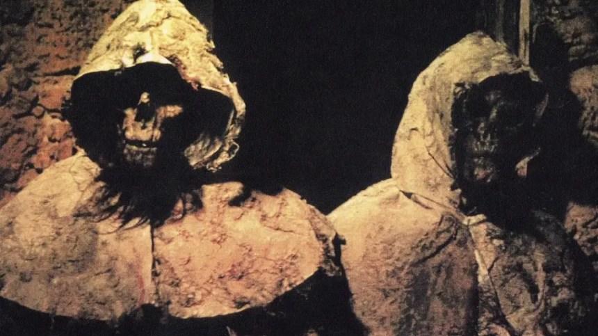 Zombies in Die Nacht der reitenden Leichen