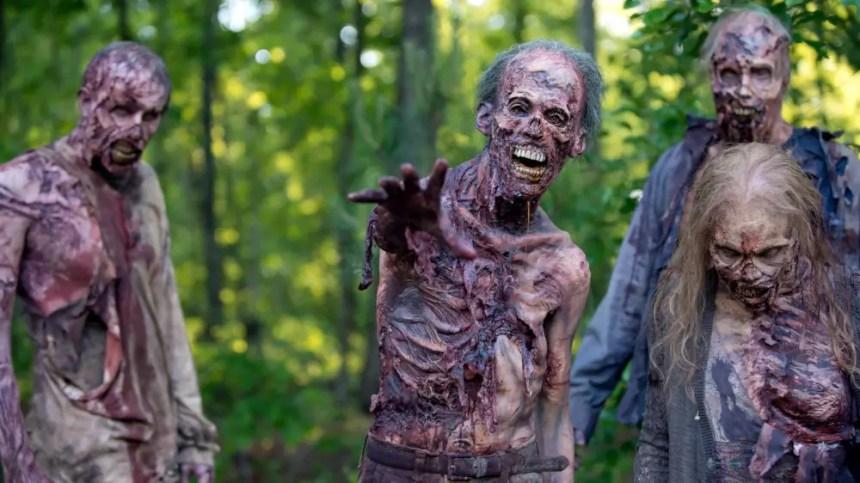 Zombies in The Walking Dead