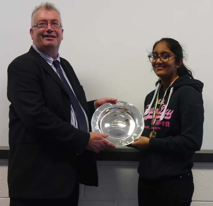 Yeats College student overall winner at Irish Junior Science Olympiad
