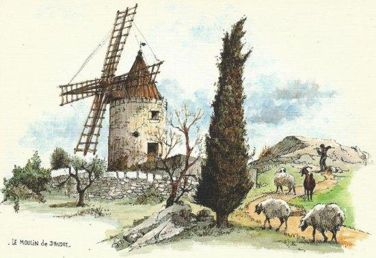 moulin a grain anglais