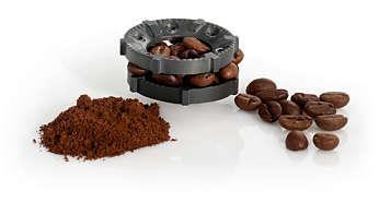 moudre le cafe