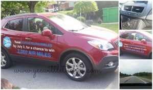 Our Road Trip with AIR MILES & 2013 Buick Encore #DRIVEYOURAIRMILES #buickdrive
