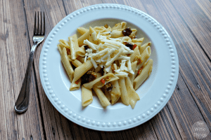 Easy Weeknight Penne Pasta with Pancetta