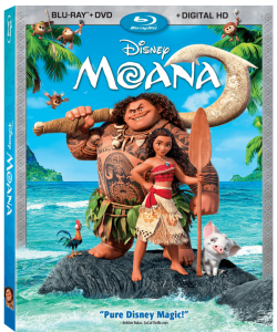 Disney's Moana – Blu-ray & DVD