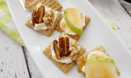 Sweet & Savoury Triscuit Appetizers