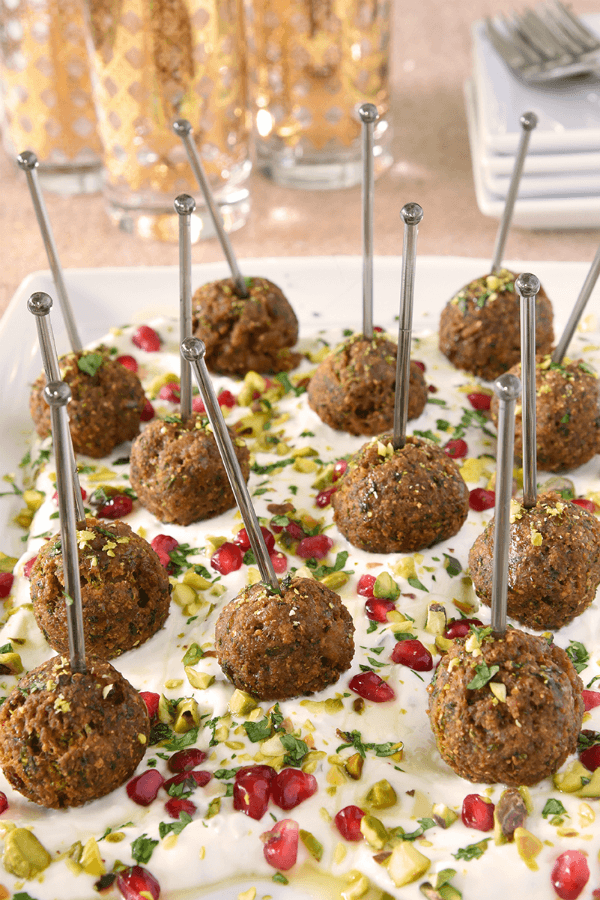 Turkey Falafel Bites