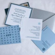Winter Wonderland Invitations - Enclosure cards
