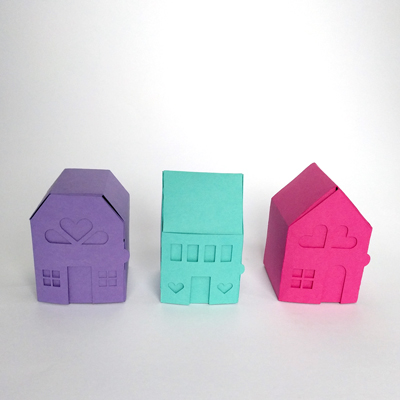 Pine Drive yeiou papercraft neighborhood kit
