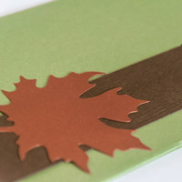Copper & Green Wedding Invitations