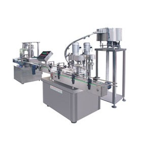Automatic Filling & Screw-capping Machine
