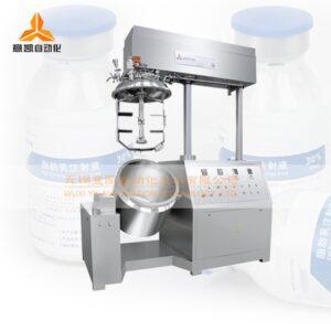 Fat emulsion injection high shear emulsifier