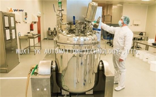 vacuum emulsifying equipment helped to produce antibacterial gel