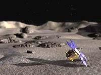 NEAR Landing on asteroid