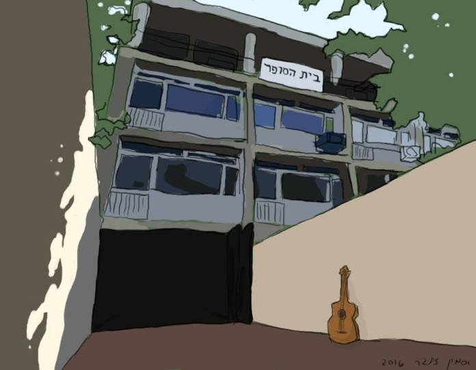 """סיפור ליום השבת – """"ממתין לשמעון אדף ליד בית הסופר"""" \ יובל יבנה"""