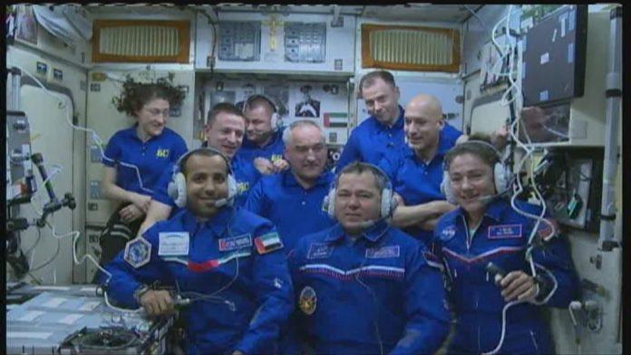 מסיבת עיתונאים בחלל בתחנת החלל הבינלאומית עם ד״ר ג׳סיקה מאייר
