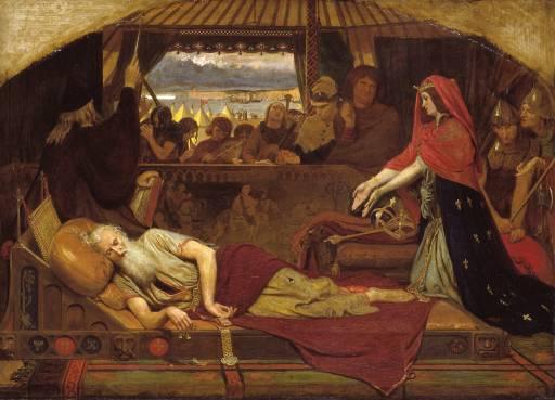 המלך ליר ובתו קורדליה. פורד מדוקס בראון. ויקיפדיה