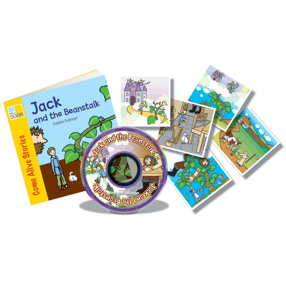 Jack And The Beanstalk Sing And Play Book Pack