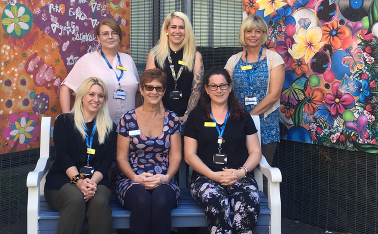 Art Therapy Project Transforms Outdoor Space At Basildon Mental Health Unit