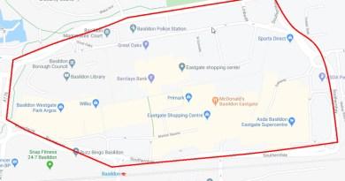Dispersal order for Basildon town centre