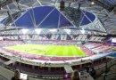 Half-time at the London Stadium…