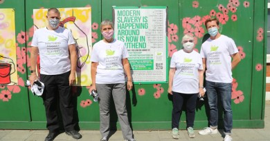 Southend community art project shows joint stance on modern slavery