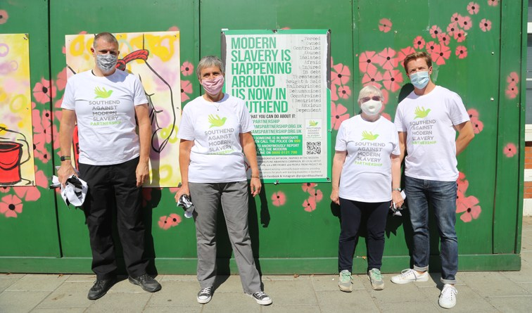 Southend community art project shows joint stance on modern slavery