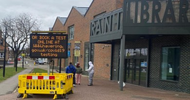 New rapid community testing site goes live in Rainham