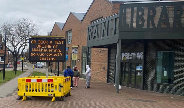 New rapid community testing site goes live in Rainham