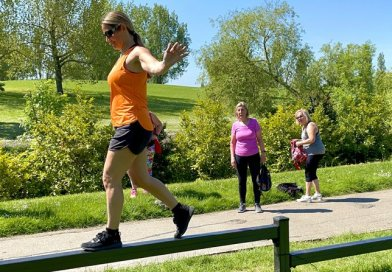 New free fitness trail installed in Gloucester Park
