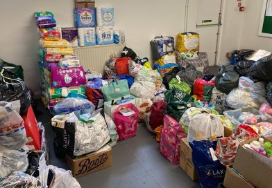 Donation point for Afghan refugees a testament to public's generosity