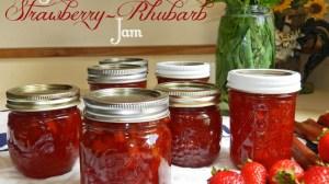 Homemade Strawberry Rhubarb Jam