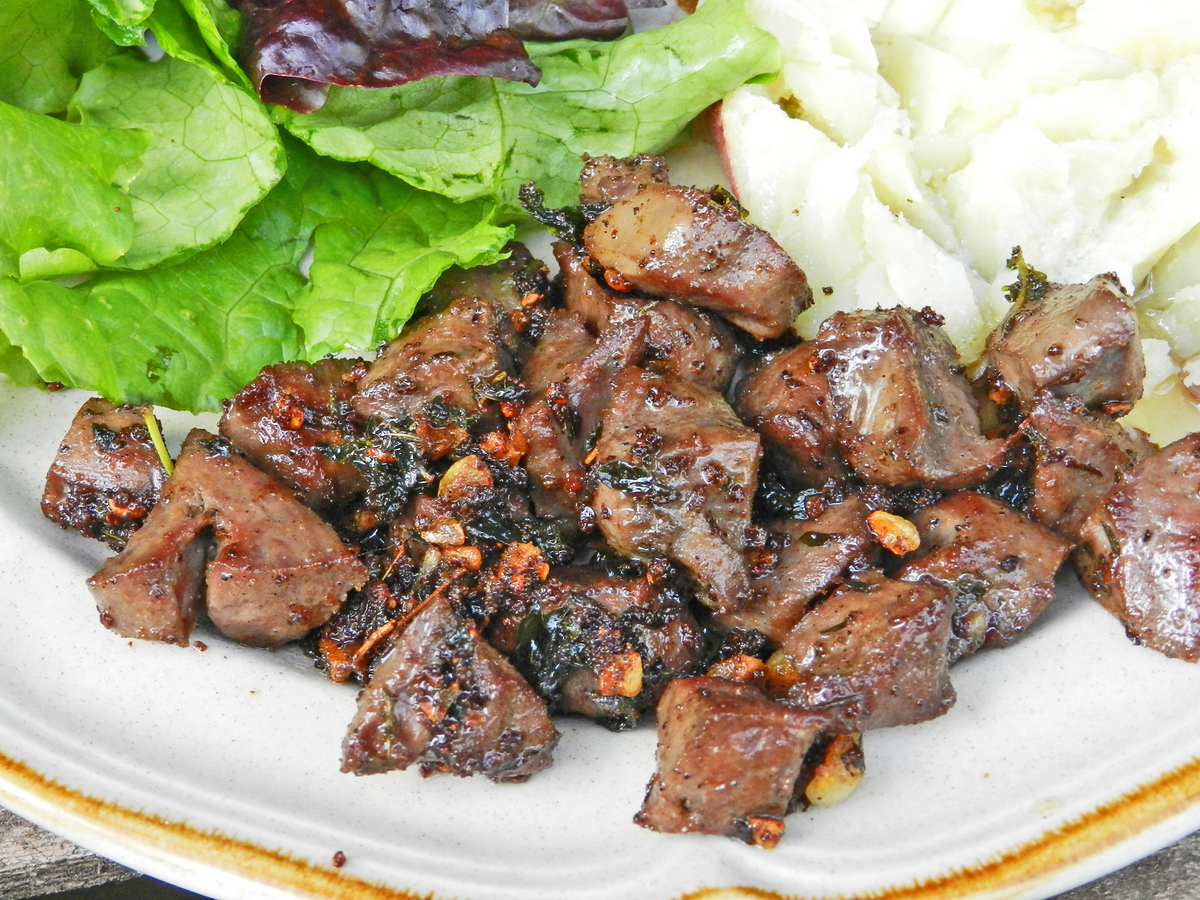 Nose-to-Tail Eating: Marinated Pig Heart