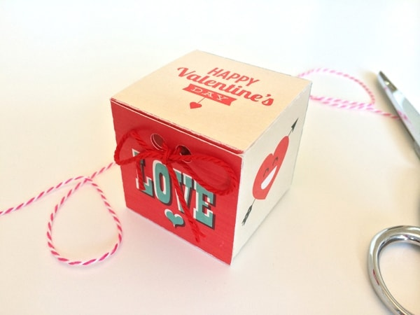Free Printable Valentines Day Treat Box