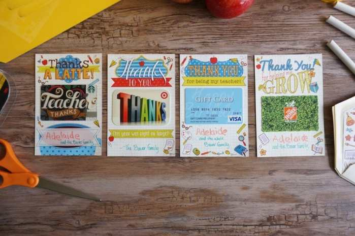 Teacher Gift Card Printables - 6 of 17