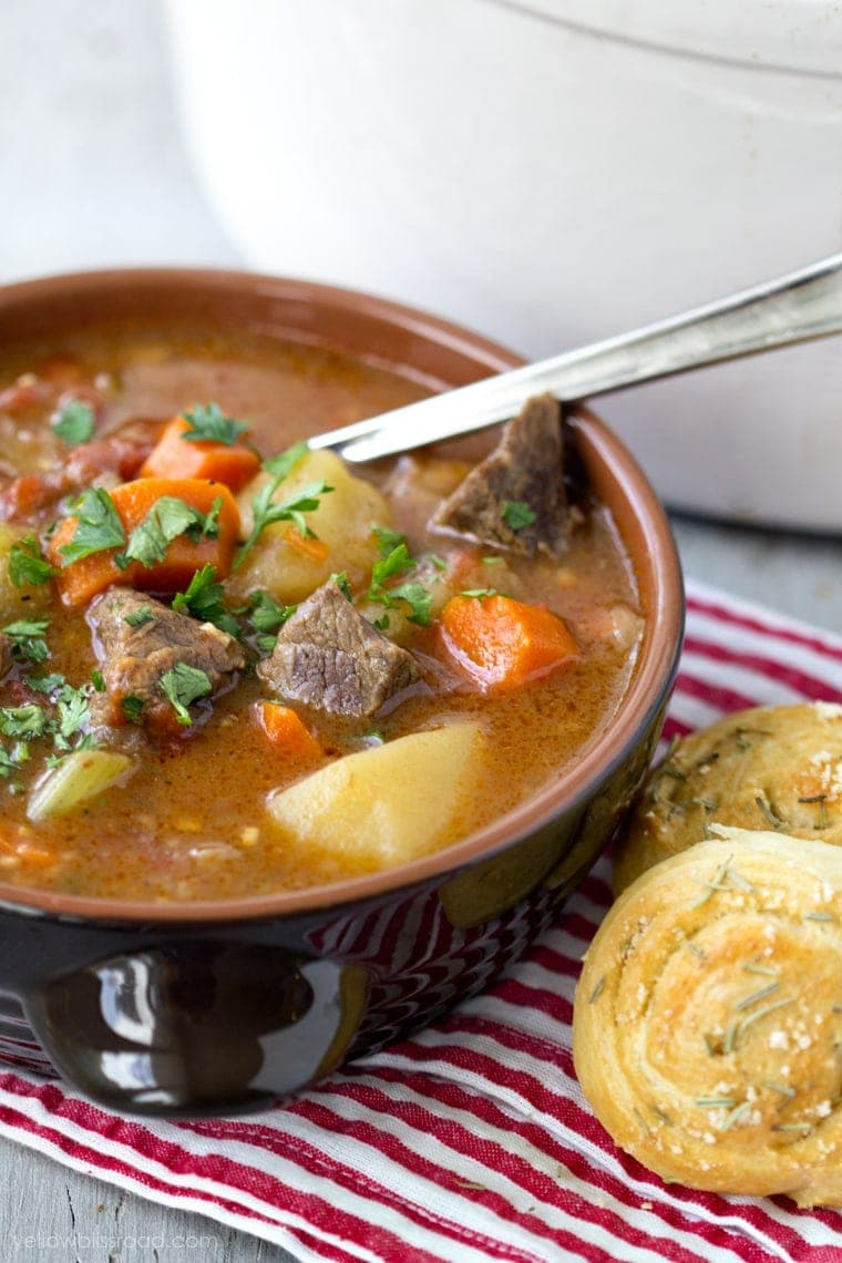 Simple Beef Stew Recipe - Yellow Bliss Road