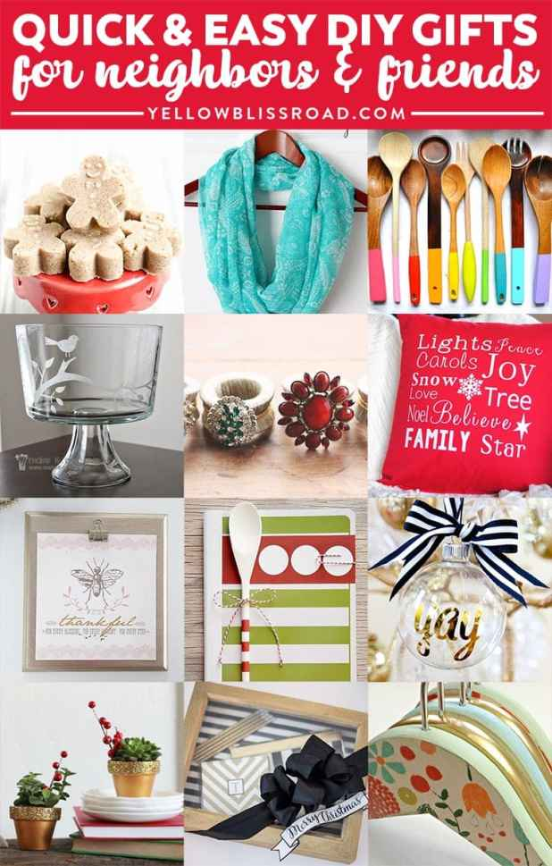 homemade christmas gifts for friends   Giftsite.co