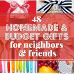 Budget Gifts Ideas For Friends And Neighbors Homemade Christmas Gifts